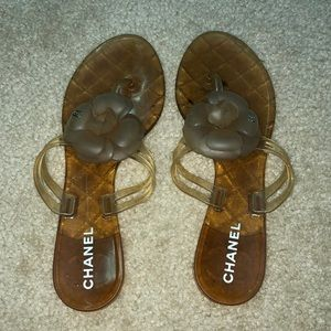 Authentic Chanel sandals